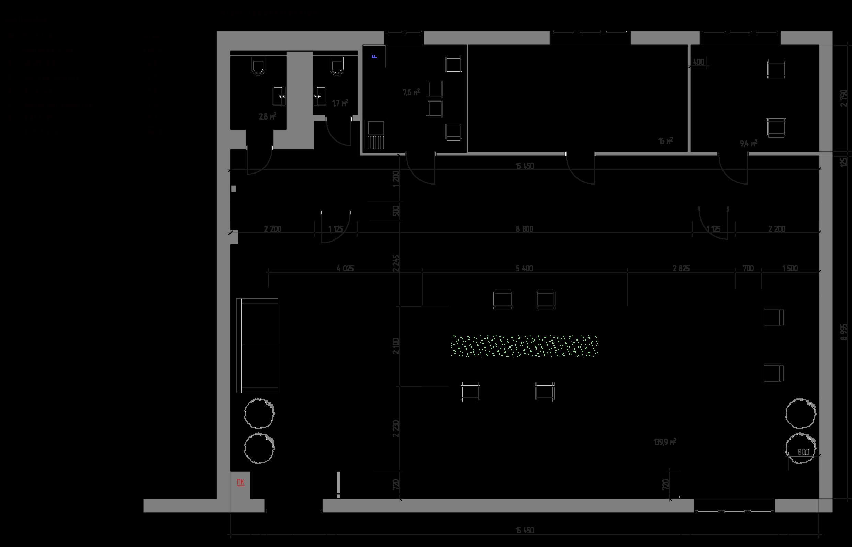 ELEMENT SHOWROOM Element furniture plan
