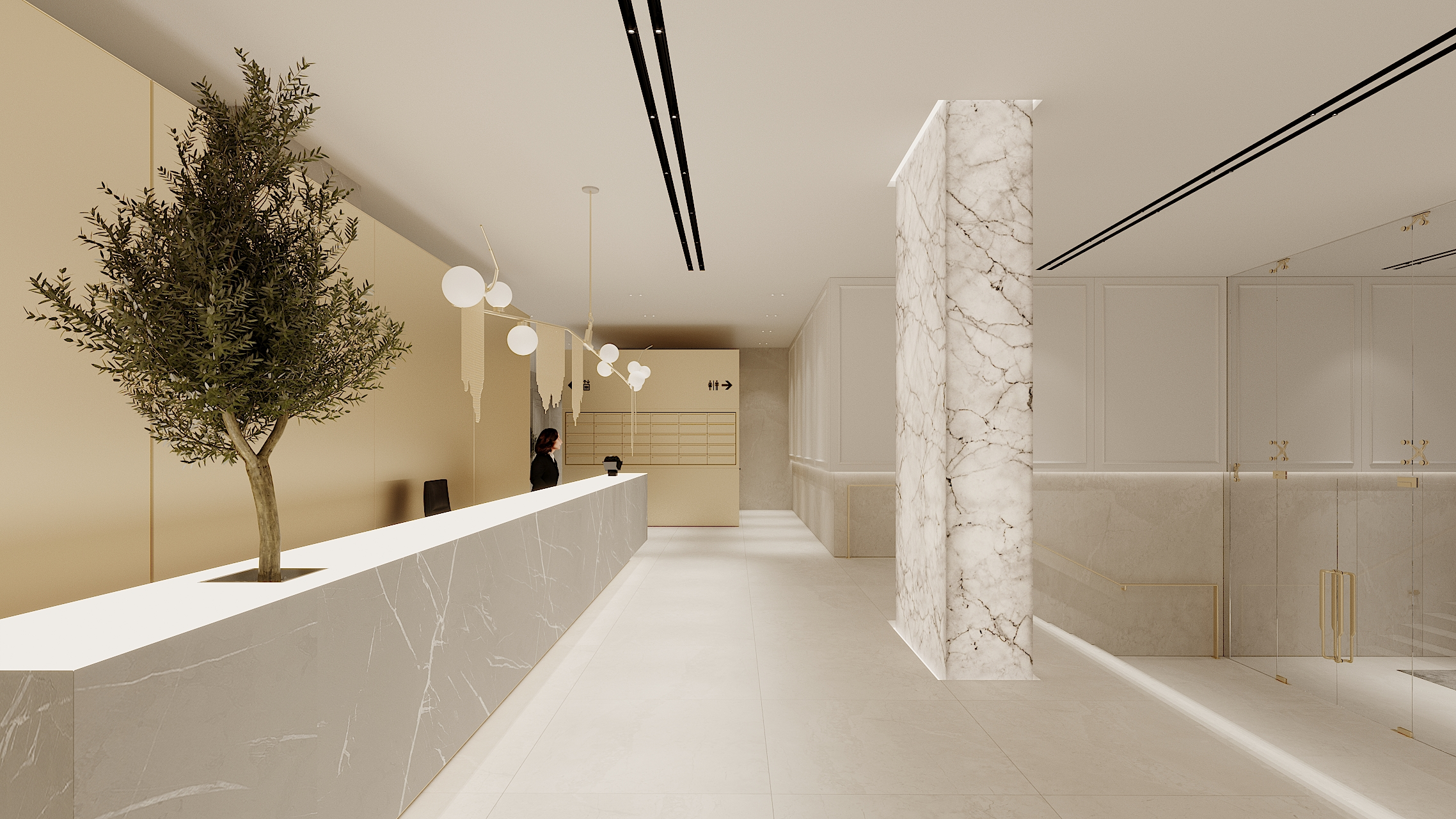 RESIDENTIAL BUILDING HALL 1 concept 1_6
