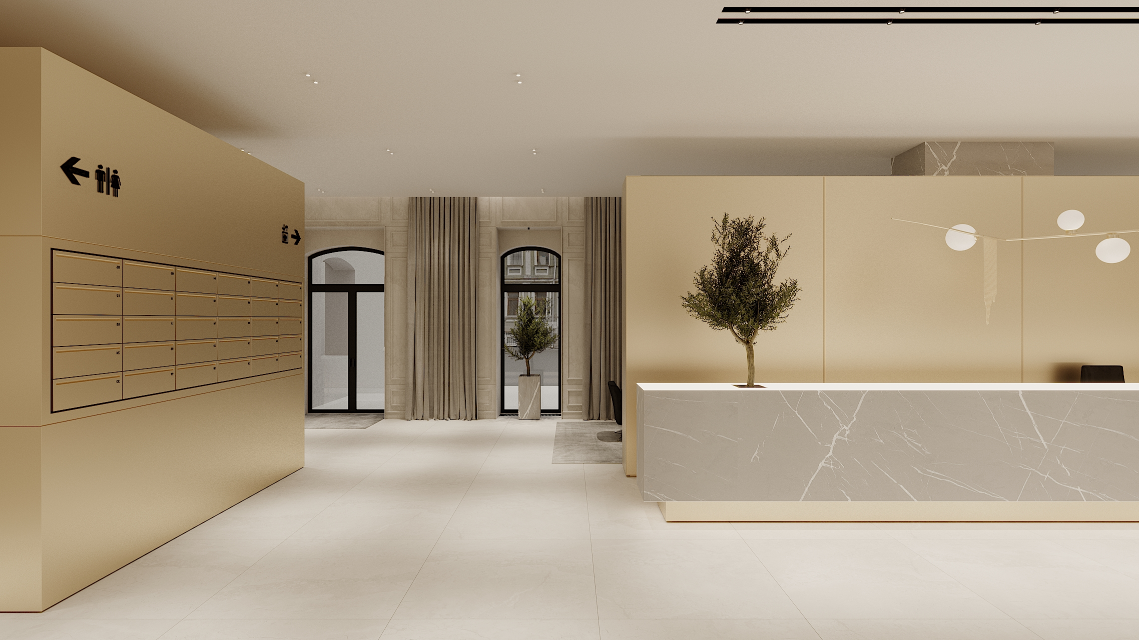 RESIDENTIAL BUILDING HALL 1 concept 1_7