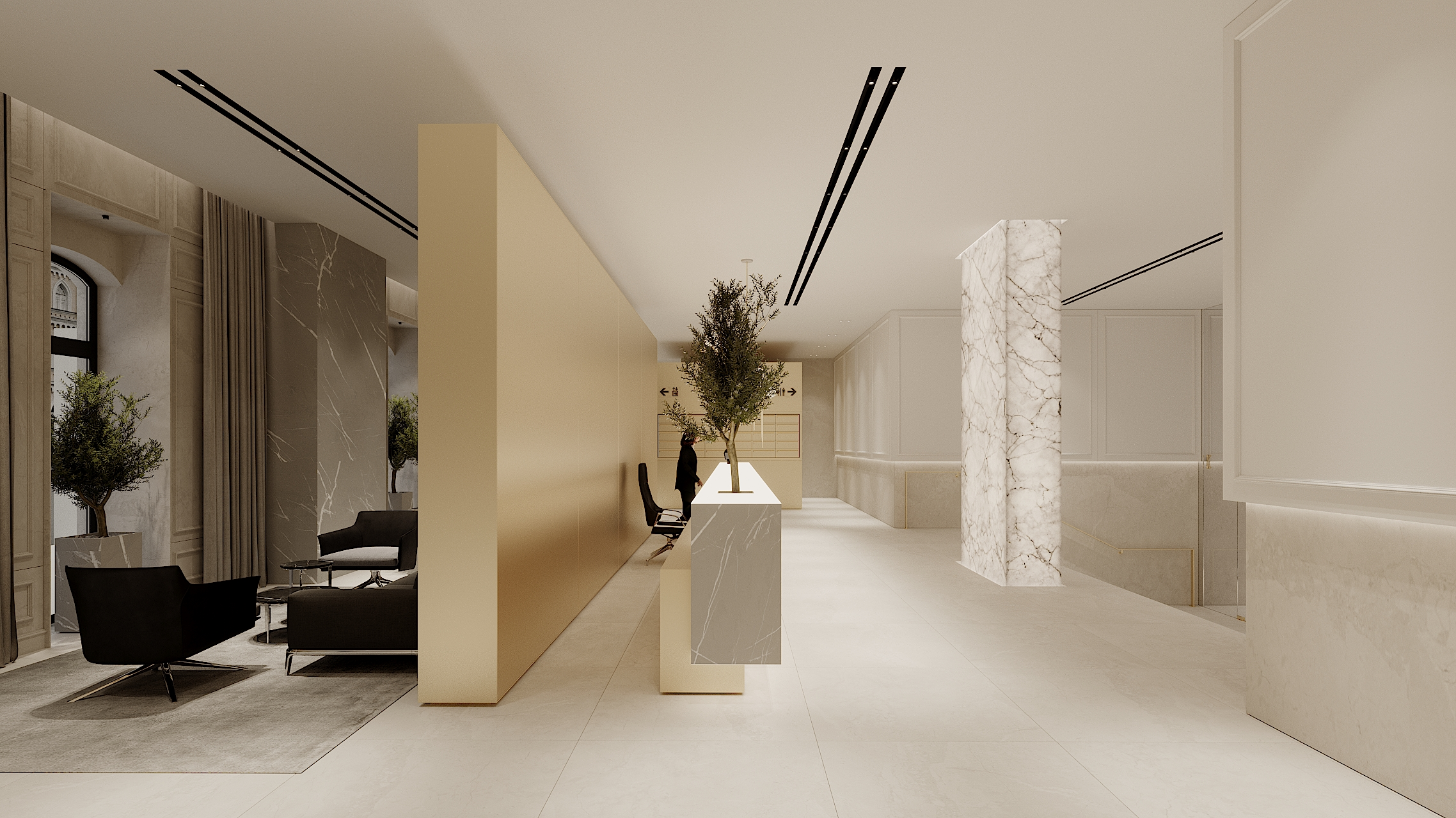 RESIDENTIAL BUILDING HALL 1 concept 1_8