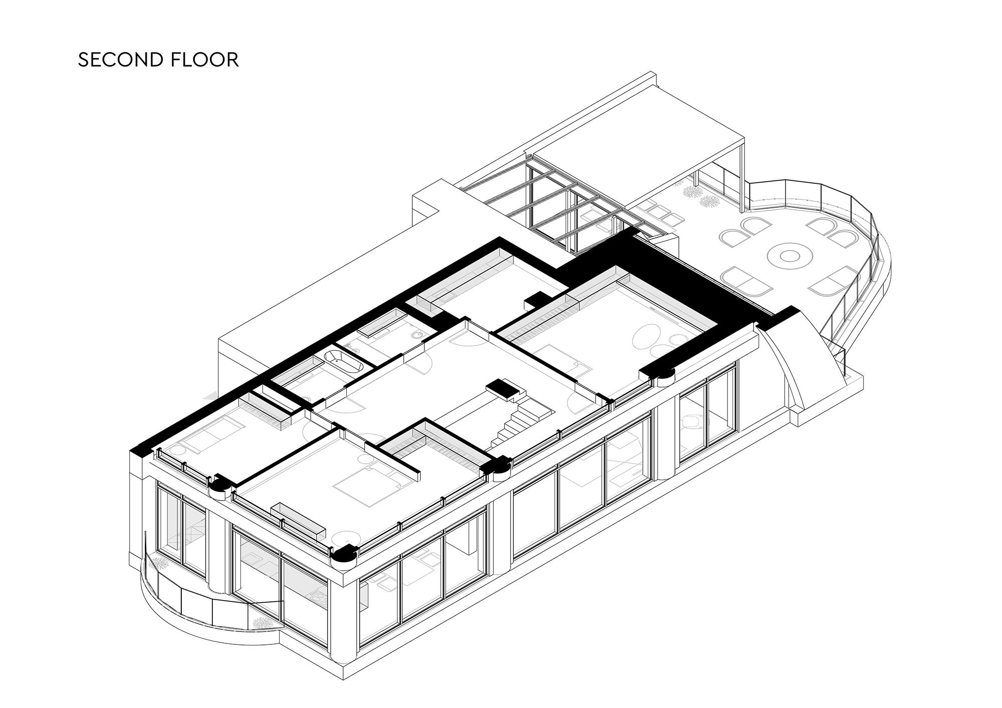 Penthouse 180 floor 2