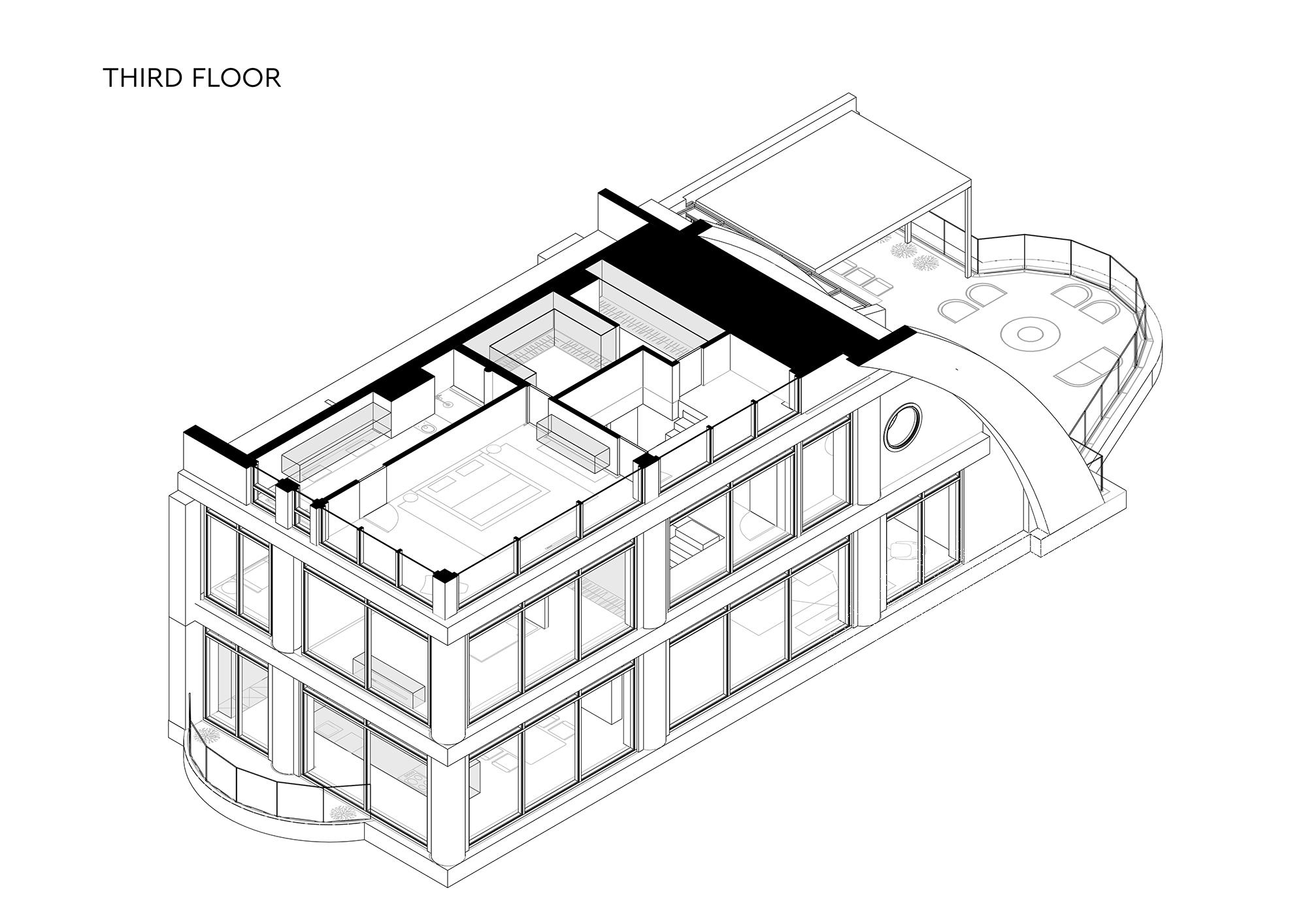 Penthouse 180 floor 3