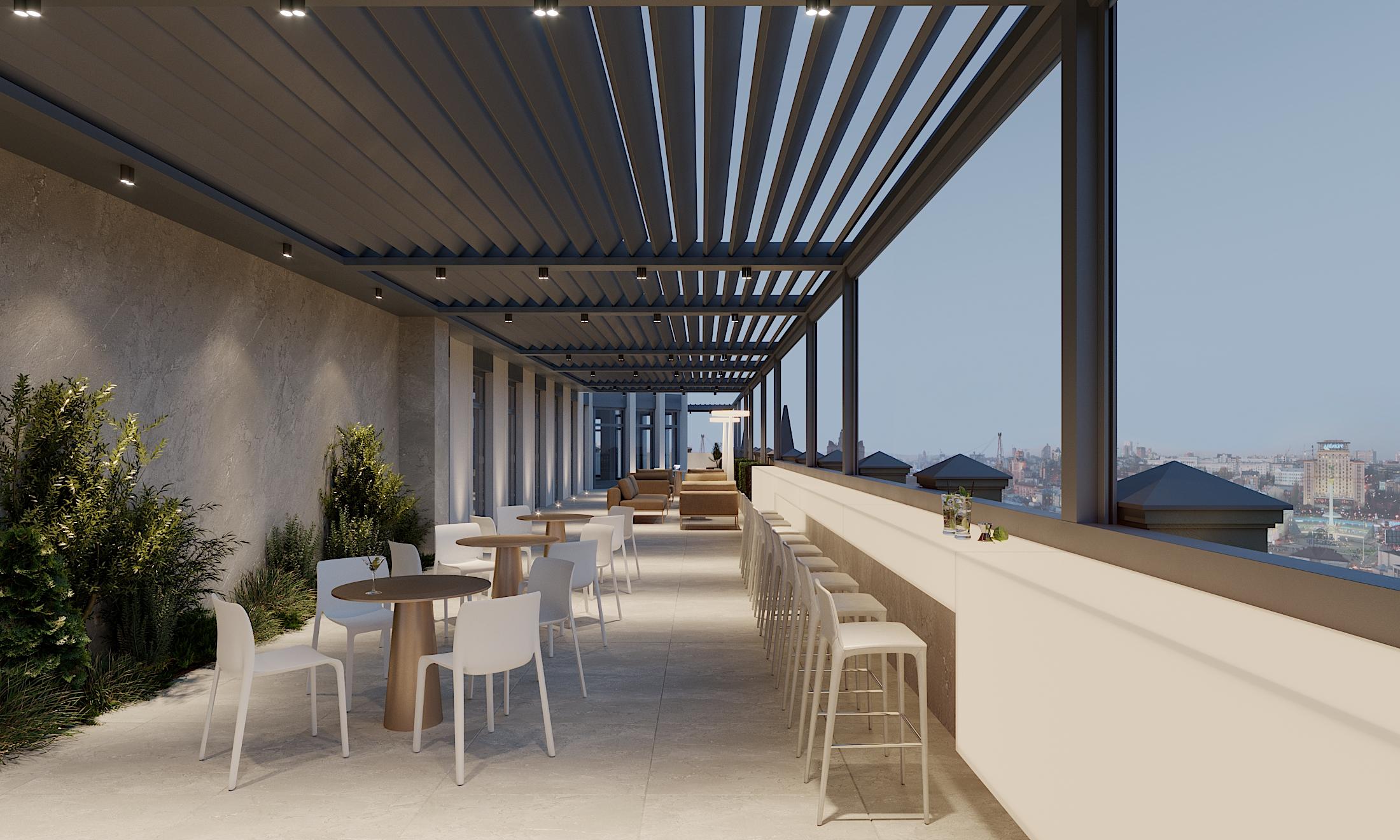Hillfort Business Mansion 1814 MYCHAILIVSKA terrace (2)