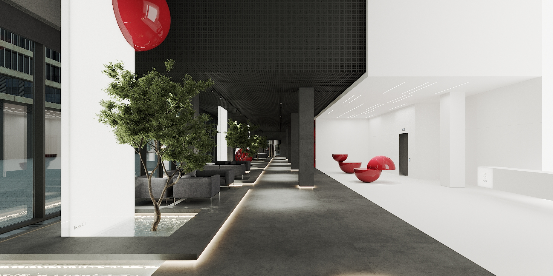 Concept Hall B12 Business Campus in Unit. City ccc 1 VAR 2