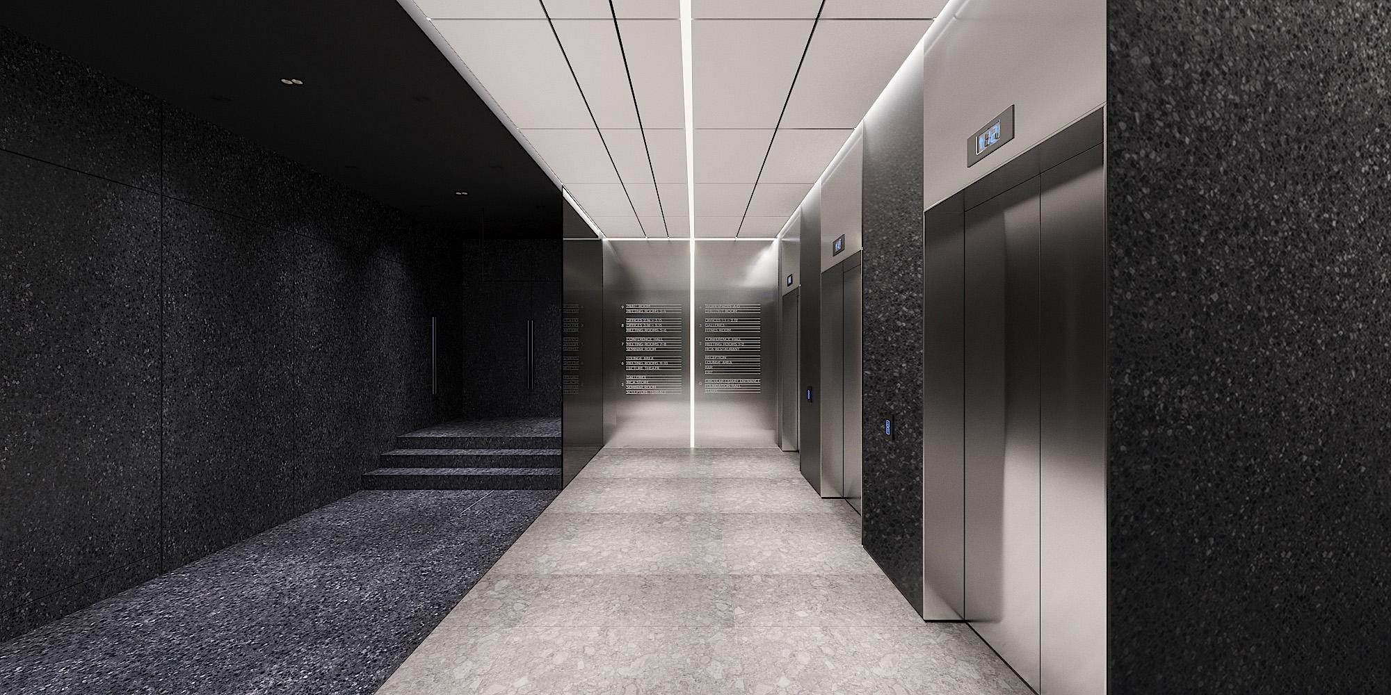 PSHKN Business Space 1912 Lipinskogo lift hall