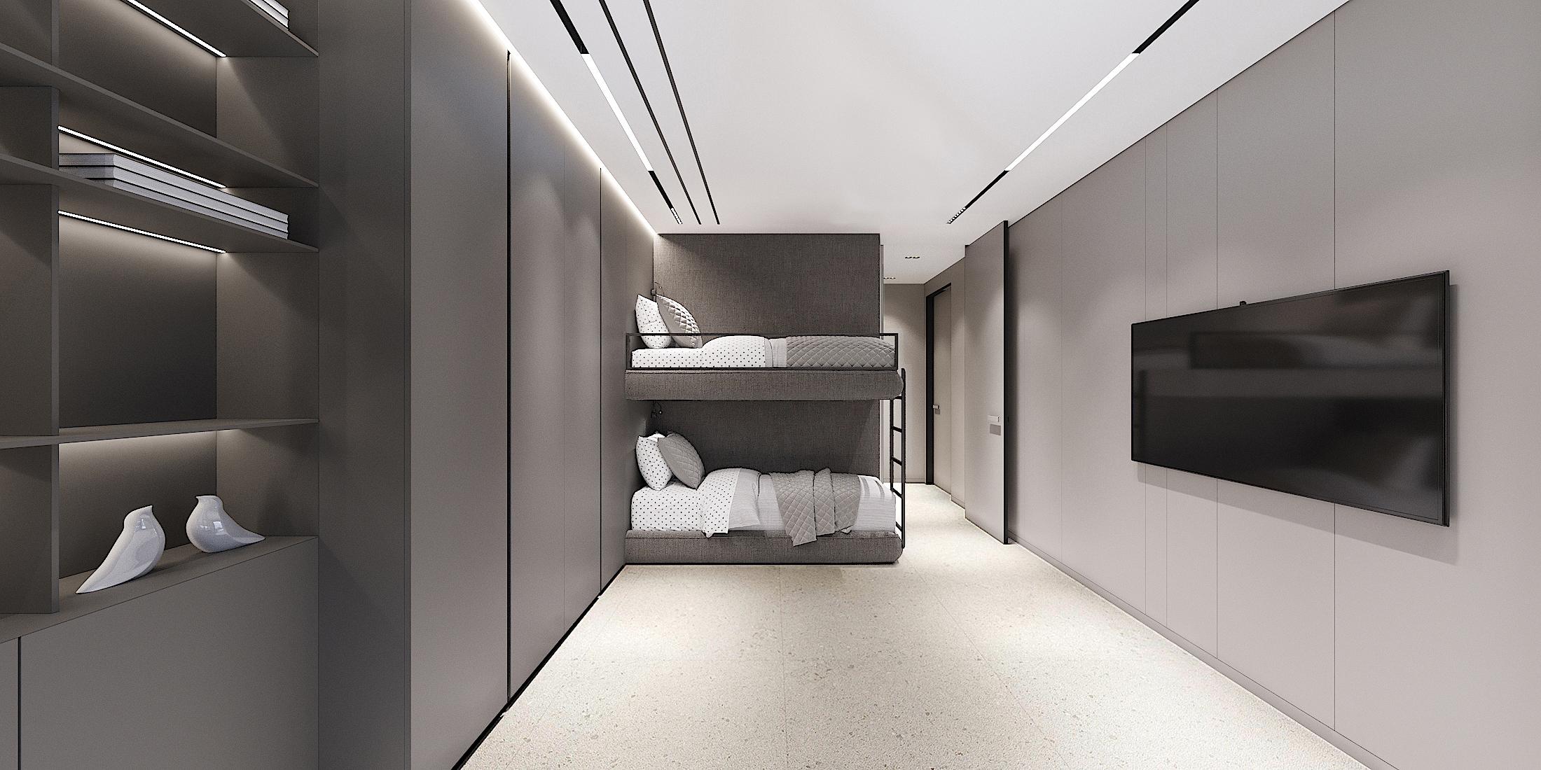 PHD Apartment 2001 PHD Guest Bedroom_1