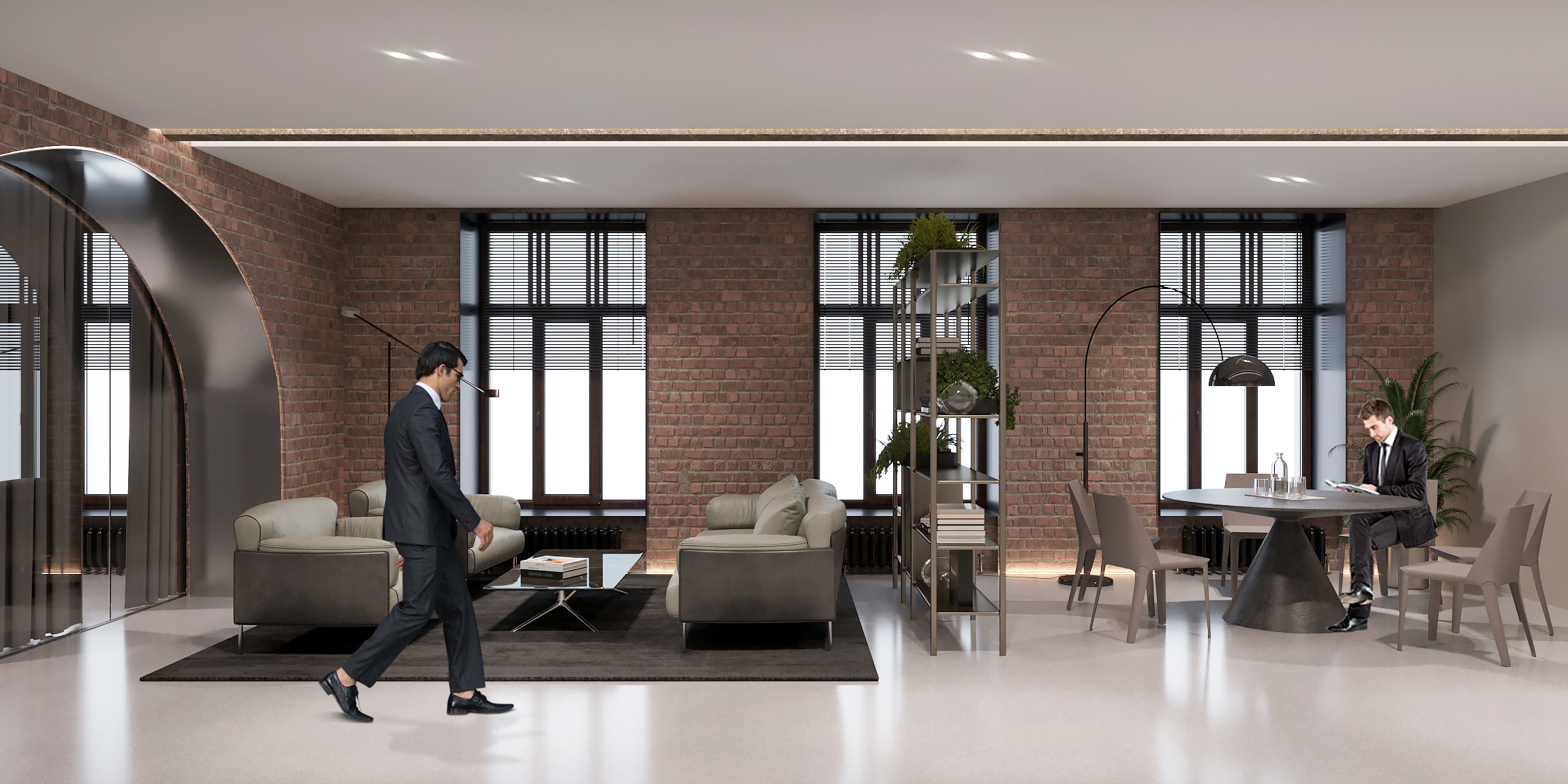 Revitalized office 2014_URALCHEM_LOUNGE-CORRIDORS (8)